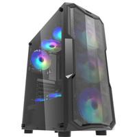 darkFlash LEO ATX PC Casing [No Fan]