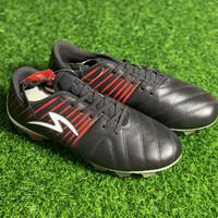 Sepatu bola specs original Barricada LEA FG black red new 2019