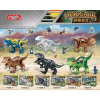 77069 Lego Dinosaurus Carnotaurus, T-Rex, Indoraptor, Indominus Rex