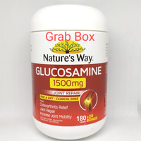 natures way glucosamine 1500 mg 200 tablet vitamin sendi joint repair