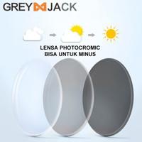 Lensa Kacamata Photochromic, Lensa Transition dengan Lensa Minus