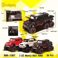 PROMO BBR1087 Mercy G63 AMG Mainan Mobil DieCast Miniatur Pajangan Mo - Hitam