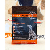 pureluxe adult all breeds salmon dog food 1,81 kg grain free holistic