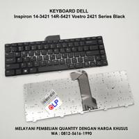 Keyboard Dell Inspiron 14-3421 14R-5421 Vostro 2421 Series Black