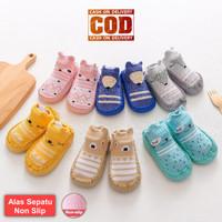 Sepatu Bayi Prewalker Kaos Kaki Karakter Anti Slip