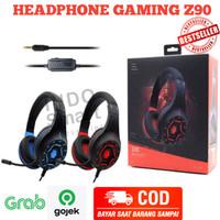Headphone Gaming Z90 Headset Game Plus Mic Handsfree Microphone PC HP