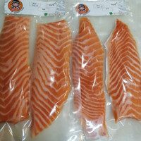 Salmon Belly Fillet 135-155gr / Trout Norway Salmon/Perut Salmon