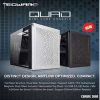 Tecware QUAD Mini Cube Case - mATX & ITX