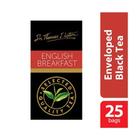 Teh Lipton Sir Thomas Lipton Enveloped English Breakfast 25 pcs