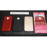 UME Emerald Samsung J2 Pro 2018 J250 Case Baby Skin Anti Sidik Jari