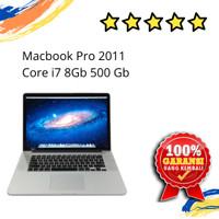 LAPTOP MACBOOK PRO EARLY 2011 CORE I7 SECOND BERGARANSI