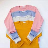 Outfit Fashion | baju girl Tshirt Basic baru | Baju wanita termurah