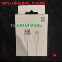 Kabel Turbo Charge Xiaomi Mi 10t Lite 5G Data Cable Original 100%