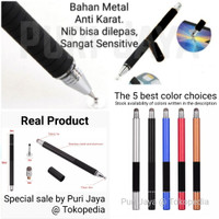 Stylus Capacitive Pen Fine Point 2 in 1 Universal Android IOS Adonit