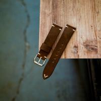 strap kulit tali jam tangan rustic leather 18mm 20mm 22mm 24mm - 18mm