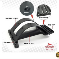 Back Care Stretcher Plus Magnet Alat Terapi Sakit Pinggang SarafJepit