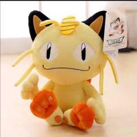 Boneka Pokemon Meowth Original
