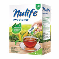 Gula Rendah Kalori Nulife Sweetener 100pcs