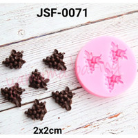 JSF-0071 Cetakan Silikon / coklat / fondan / pudding buah Anggur grape