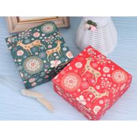 Paper Box Kotak Kado Serbaguna Bungkus Kado Natal Imlek Fancy