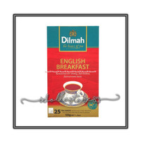 DILMAH ENGLISH BREAKFAST - ETHICAL TEA - IN FOIL POUCH TEA BAGS 20