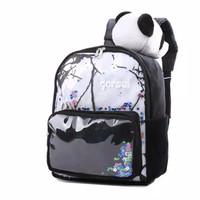 tas ransel sekolah anak perempuan karakter boneka panda GYN 5623