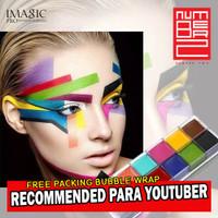 face painting Imagic ORIGINAL make up palette wajah 12 color