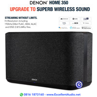 Denon Home 350 bluetooth wireless streaming active speaker sln sonos