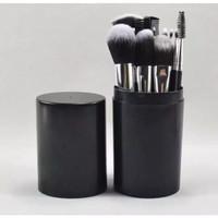 TABUNG 12 - Brush Tabung BLACK Hankousi Nankousi - Kuas Make Up Set 12