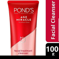 PONDS AGE MIRACLE FACIAL TREATMENT CLEANSER 100 GR BESAR