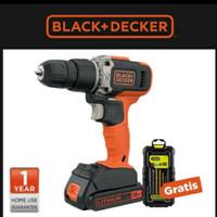 bor batre cas BLACK + DECKER hammer cordrels 18volt(bcd0031c1-B1)