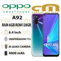Oppo A92 6/128 RAM 6GB ROM 128GB GARANSI RESMI OPPO