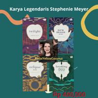 Novel Twilight Saga - Stephenie Meyer