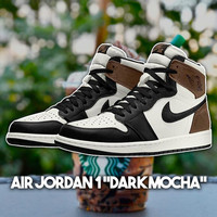 Nike Air Jordan 1 Retro High Dark Mocha Original RESMI