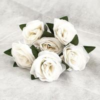 Mawar K6 dia. 8cm Bunga Artificial Dekorasi pelaminan handbouquet