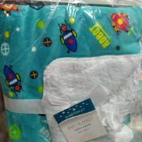 [PROMO]Selimut carter bayi harga grosir double fleece