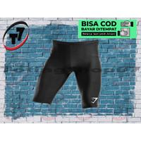 Celana sport GYM SHARK olahraga voly futsal training renang