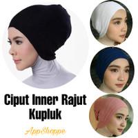 Ciput Inner Kupluk Hijab Rajut Polos Tidak Panas Nyaman Good Quality