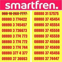 NOCAN SMARTFREN kartu perdana nomor cantik 7777 urut + kuota unlimited
