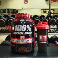 Elite Labs USA 100% Iso Blend 4 lb IsoBlend lbs whey isolate protein