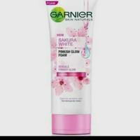 garnier sakura white 100ml foam