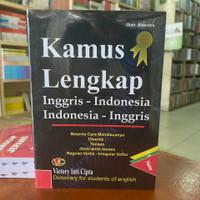 Kamus Lengkap Bahasa Inggris - Indonesia Terbaru/Best Seller