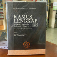 Kamus Lengkap Bahasa Inggris - Indonesia Wojowasito