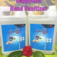 hand sanitizer happy klin Antiseptic liquid (cair) 5 Liter Refill