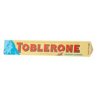 Coklat TOBLERONE Import Crunchy Almonds 100gram - Terenak Termurah