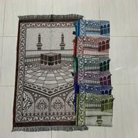 sajadah turki ukuran besar ole oleh haji dan souvenir
