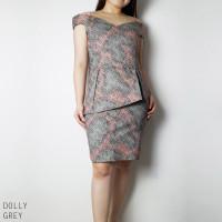 Dollyy Dress - Dress Batik Wanita Terusan Wanita