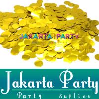Confetti Warna Gold / Confetti Isi Balon / Bulat Bubble / Isi Confetti