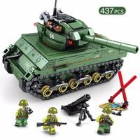 Lego City Army Soldier tentara war Tank Police Station Minifigures