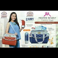 Moms Baby Ruby MBT3040 Tas Perlengkapan Bayi Medium Bayi / Dialogue